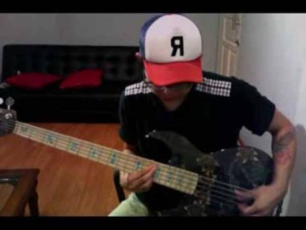 bass cover fortunate son