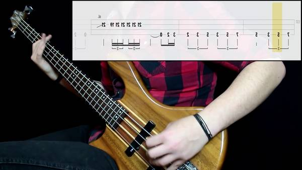 bass tab since ive been loving you