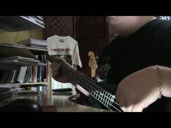 bass cover old time rock and roll