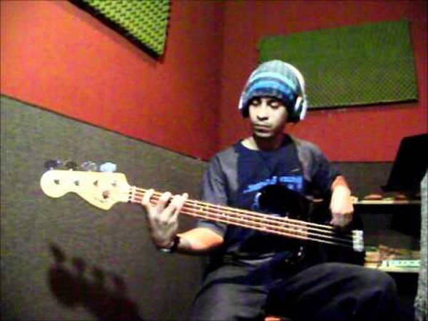 youtube bass cover hotel california