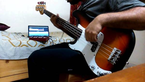 bass cover for whom the bell tolls