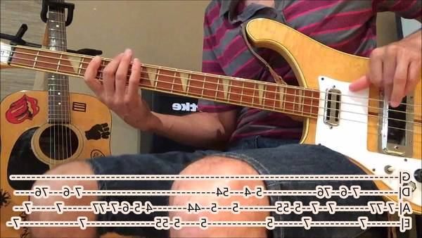 almost easy bass tab
