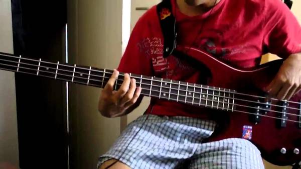 bass tab you give love a bad name