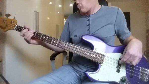 easy beatles bass tab