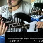 Top 100: Pumped up kicks bass cover with tabs (Crazy!)