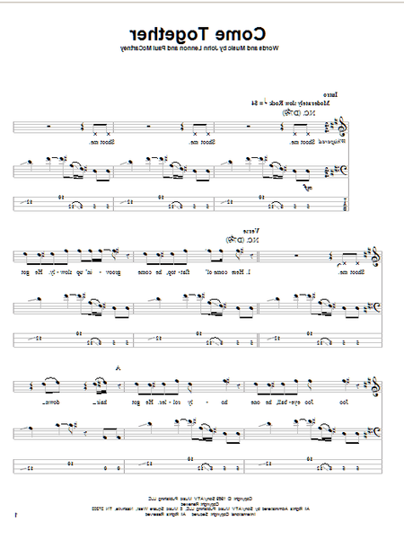 bass tab where is my mind