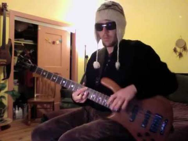 bass cover walk this way