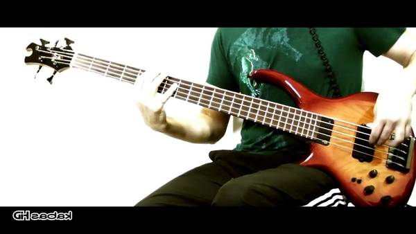 bass tab cant stop red hot chili peppers