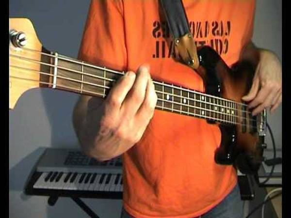 bass cover we will rock you